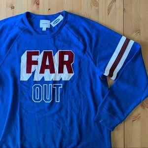 Old Navy Sporty Blue Far Out Sweatshirt